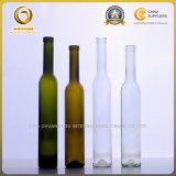 375mlコルクの深緑色の氷のワイングラスのびん(136)