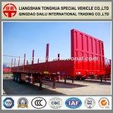 Semi Aanhangwagen van de Zijwand Colum van de tri-as 70ton de Hoge