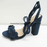 Новые женщины конструкции продают обувь оптом сандалии высокой пятки коренастую