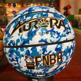 كرة سلّة صنع وفقا لطلب الزّبون [ور-رسستينغ] نوعيّة رخيصة [8بيسس] 4#5#6#7# [بو] [سغ5221/2/3] تمويه أسلوب كرة سلّة
