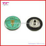 Pin unique Jeans Button avec Embossed Custom Logo