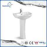 Bassin en céramique de main de lavage de piédestal de bassin dans la salle de bains (ACB1080)