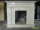 Polished камин гранита Shanxi черный с самомоднейшим типом