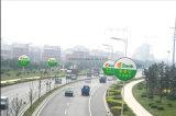 Tabelloni per le affissioni del bordo della strada e fare pubblicità alla casella chiara