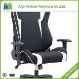 価格の中国の安い工場PUの革白く黒い賭博のコンピュータの椅子(青二才)