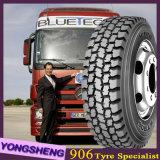 pneu radial populaire de camion du pneu 11r22.5 d'usine de pneu de la Chine