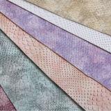 Cuoio sintetico dell'unità di elaborazione di colore di struttura di sogno del serpente per tappezzeria, mobilia, borse