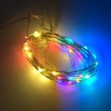 6m 60 LED 3AA Outdoor Battery Powered Timer LED Copper Wire String Fairy Light