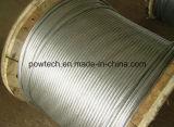 Conducteur en acier en aluminium de fil de brin de type