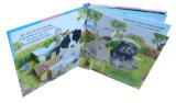 La impresión de papel surge el libro para el cabrito con el punto ULTRAVIOLETA
