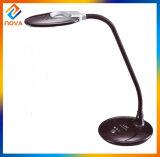Lâmpada de tabela flexível de venda quente da escrita do diodo emissor de luz da leitura com pulso de disparo