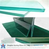 verre feuilleté durci par 6.38mm-40mm de sûreté pour des opérations d'escalier/construction