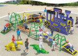 Ejercicio olímpico de Phisical de los niños de Kaiqi como patio al aire libre en el área de juego (KQ60112A)