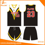 Basquetebol cheio por atacado Jersey do Mens do Sublimation de Healong