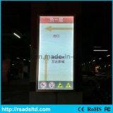광고를 위한 공장 가격 LED Backlit 호리호리한 가벼운 상자
