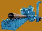 Máquinas durables de la limpieza de la ráfaga de tiro de la pared externa del tubo de acero