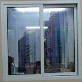 Застекленное двойником качество удара урагана хорошее Water-Tight/звукоизоляционное/Жар-Изолирует окно PVC сползая