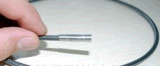 2.4mm industrielles videoBoroscope mit 2wegartikulation, 1.2m prüfenkabel