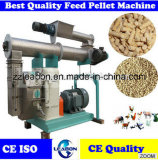 Ring horizontal Die Pellet Machine para Poultry Feed