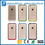Caisse de butoir de silicium de téléphone mobile transparent semblable en gros de Supcase pour l'iPhone 6/6 positif