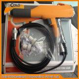 Pistola a spruzzo manuale del rivestimento della polvere con la tramoggia di fluidificazione