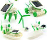 6 in 1 Solar Robot Toys per Kid Tranning Intelligence