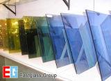 ゆとりまたは染められるまたはカラーか建物のフロートガラス