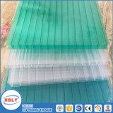 Прозрачный лист поликарбоната отдела мастерской крыши окна
