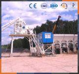 Hzs120 secam a planta de mistura concreta para o misturador de cimento usado