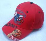 Красная бейсбольная кепка с славным логосом Bb248