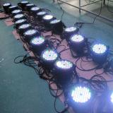 IP65 54pcsx3w RGBW impermeabilizzano l'indicatore luminoso di PARITÀ del LED per la fase esterna