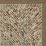 Azulejo de suelo de cerámica esmaltado rústico del material de construcción (400*400m m)