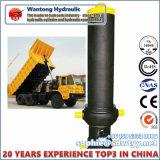 Cylindres hydrauliques télescopiques frontaux pour le camion à benne basculante