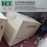 Máquina não tecida para o tampão Bouffant do grampo da multidão que faz Kxt-Nwm04 (CD anexado da instalação)