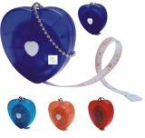 Le poids de mesure de bande de taille de forme de coeur détruisent le ruban métrique