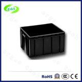 Caja de rotación anti-estático asequible corrugado de componentes de plástico