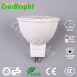 Lampen-Scheinwerfer des 5W MR16 LED Birne Dimmable PFEILER Chip-LED