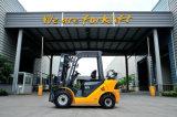 De kleine Nieuwe Dubbele Vorkheftruck 1.5ton van LPG van de Benzine van de Brandstof