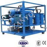Purificador de petróleo horizontal da isolação do vácuo do Dobro-Estágio de dois evaporadores