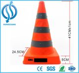 LED Flashing Retractable Traffic Cone