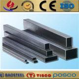 Cuadrado grande del acero inoxidable del diámetro Tp430 y precio rectangular del tubo