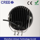 """7 """" indicatore luminoso di azionamento impermeabile del CREE LED 4X4 di 12V 90W 18X5w"""