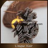 Preço de fábrica por atacado das extensões do cabelo da queratina da classe 10A