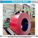El color de los productos de acero PPGI PPGL cubierto prepintó la bobina de acero galvanizada