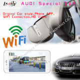 Audi Support Driving Record, WiFi Mirrorlink, Loop Video를 위한 1080P Car DVR Special