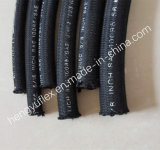 철사 끈목과 섬유는 덮개 유압 호스 SAE 100r5를 강화했다