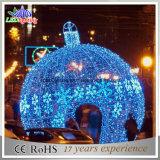 عطلة خفيفة [لد] عيد ميلاد المسيح كرة ضوء كبير خارجيّة عيد ميلاد المسيح زخرفة ضوء