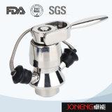 Válvula asséptica sanitária manual da amostra do aço inoxidável (JN-SPV2002)