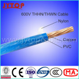 600V Thhn Wire, Nylon Jacket Copper Electric Wire Thwn-2 Mtw