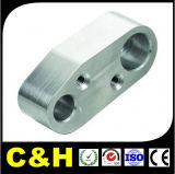 Горячий CNC надувательства филировал алюминиевой латунной части подвергли механической обработке нержавеющей сталью, котор